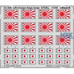 IJN ensign flags large STEEL 1/350