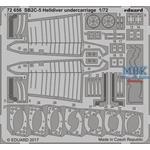 SB2C-5 Helldiver undercarrige  1/72