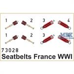 Seatbelts France WWI SUPER FABRIC