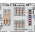 B-17G seatbelts STEEL 1/72