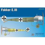 Fokker E.III 1/72   -Weekend Edition-