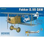Fokker D. VII OAW - Weekend edition -