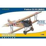 Fokker D.VII MAG - weekend edition