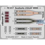 Seatbelts USAAF WWII STEEL  1/48