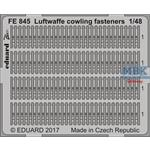 Luftwaffe cowling fasteners 1/48