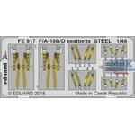 F/A-18B7D seatbelts STEEL   1/48
