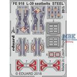 L-39  seatbelts STEEL   1/48
