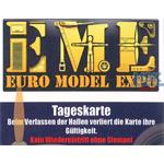 Eintrittskarte Euro Model Expo 2017