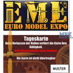 Eintrittskarte Euro Model Expo 2018