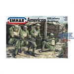 American WWI Infantry 'Doughboys'