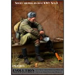 Soviet Soldier on Rest No. 3 WWII