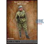 Soviet Soldier WW2 1943-45