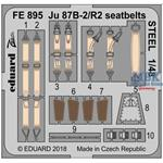 Ju 87B-2/ R2 seatbelts STEEL 1/48