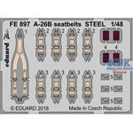 A-26B seatbelts STEEL 1/48