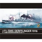 German Battlecruiser Derfflinger 1916