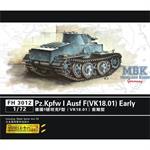 Pz.Kpfw I Ausf F (VK18.01) early