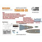 USS TEXAS BB-35 (Trumpeter 05340)