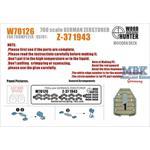 Zerstörer Z-43 Wooden Deck (Trumpeter 05791)
