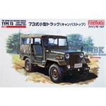 JGSDF Type 73 Light Truck w/Canvas Top