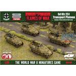 Flames Of War: Sd Kfz 251 Transport Platoon