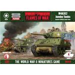 Flames Of War: M4A3E2 Jumbo Tanks
