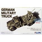 German Military Truck Opel Blitz Antiaircraft 1/72