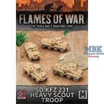 Flames Of War: Sd Kfz 231 Heavy Scout Troop