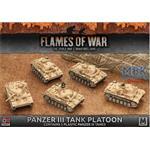 Flames Of War: Panzer III Tank Platoon
