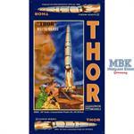 Thor Missile + Launch Pad /  Rakete + Startrampe