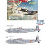Avro 685 York - De Gaulle & Aéronavale