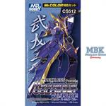 Mechanical Color Set Version Blue 3x10ml
