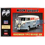 Volkswagen Type 2 Delivery Van Moon Equipped  1/24
