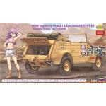 Kübelwagen Type 82 Wild EGG Girls Claire Frost
