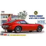 Toyota 2000GT with Gilrs Figure  SP366