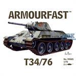 T-34/76 Russian Tank (2er Set)