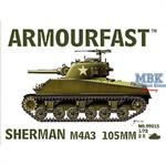 Sherman M4A3 105mm (2er Set)