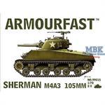 Sherman M4A3 105mm (2er Set)
