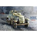Soviet BA-10 Armoured Car