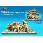 Street Fighting USMC 1968 (6 Figuren) w/Base