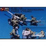 Pak40 paratroopers gunners