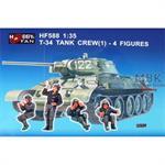 T-34 Tank Crew Set
