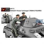 Sd.Kfz.231 Panzerspähwagen crew (2 Figuren)