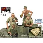 U.S. Vietnam War Duster Crew (4 Fig)