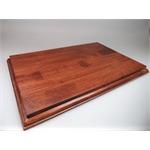 Holzsockel, 30 x 20cm, Mahagoni