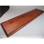 Holzsockel, 60 x 15cm, Mahagoni