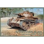 Stridsvagn M/40 L Swedish light tank