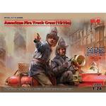 American Fire Truck Crew (1910s) (2 figures)