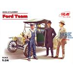 Ford Team w/ Model T 1913 Roadster