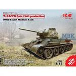 T34/76 späte Produktion 1943