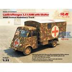 LKW 3.5 AHN with Shelter, WWII German Ambulance
